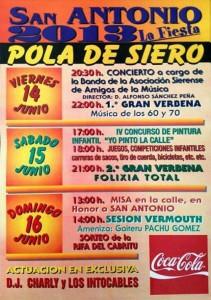 Fiestas San Antonio en la Pola