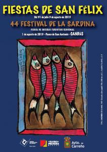 Cartel del Festival de la Sardina