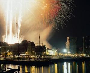 Fuegos Artificiales en Gijón
