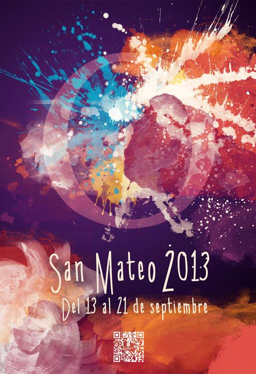 cartel de las fiestas de San Mateo 2013