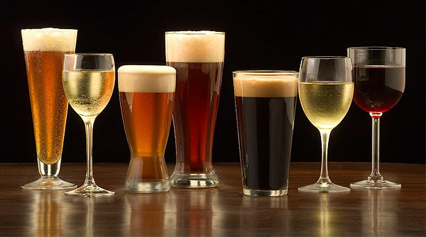 Vino y cerveza para la salud