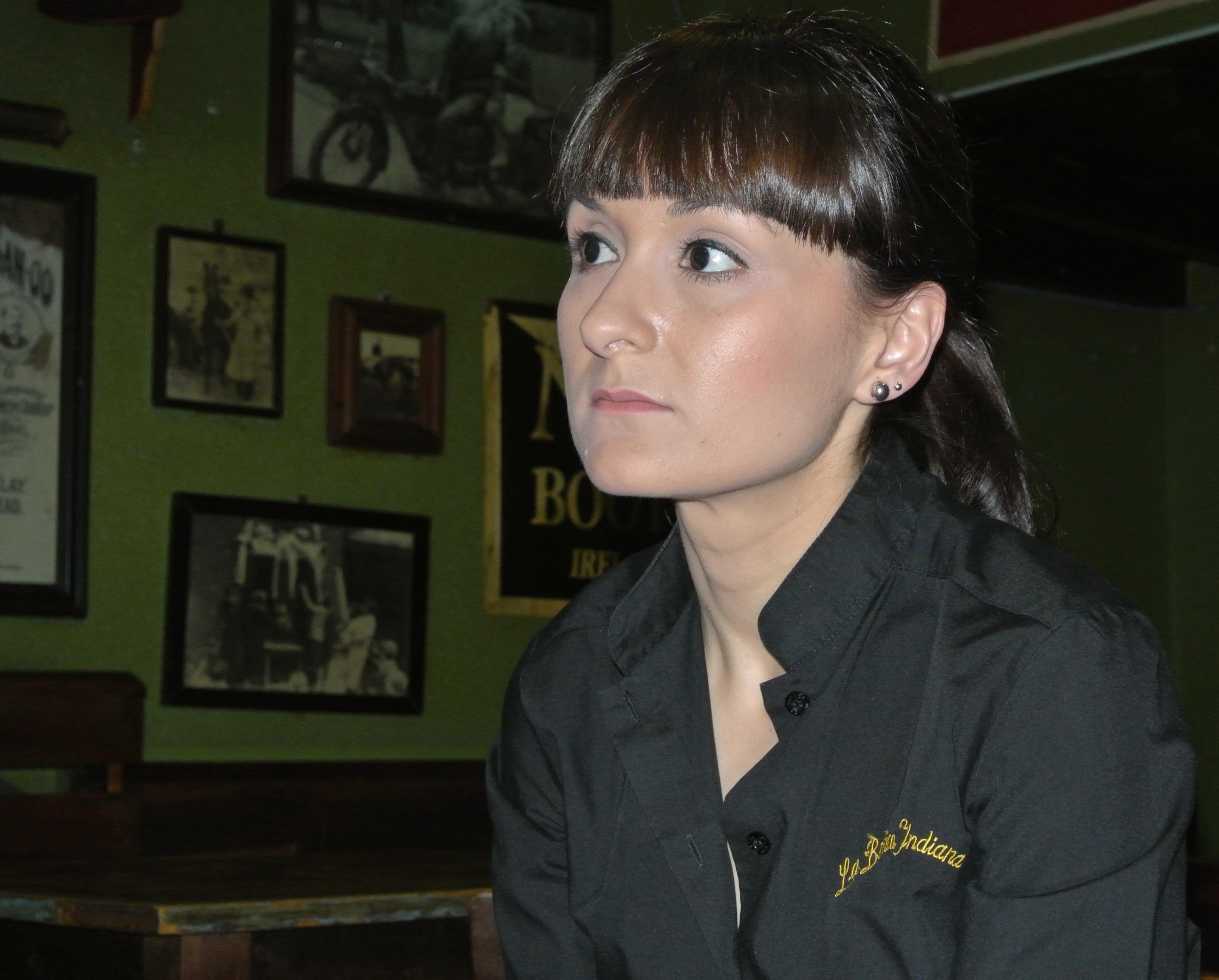 Verónica Horrillo, encargada del Molly Malone