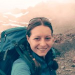 Georgina en el Mont Blanc