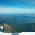 Paisaje desde el Mont Blanca