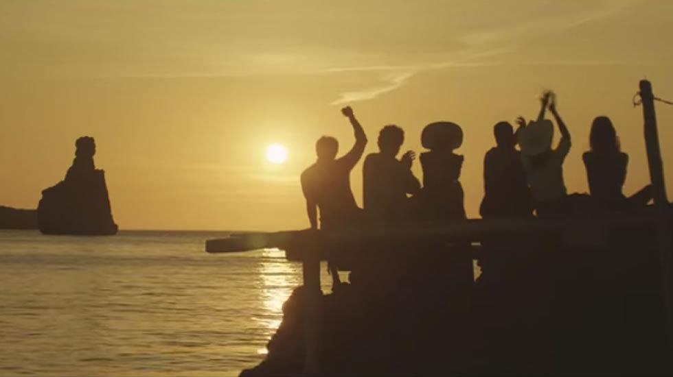 Fotograma del anuncio de Estrella Damm