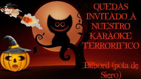 Halloween-Karaoke-Siero