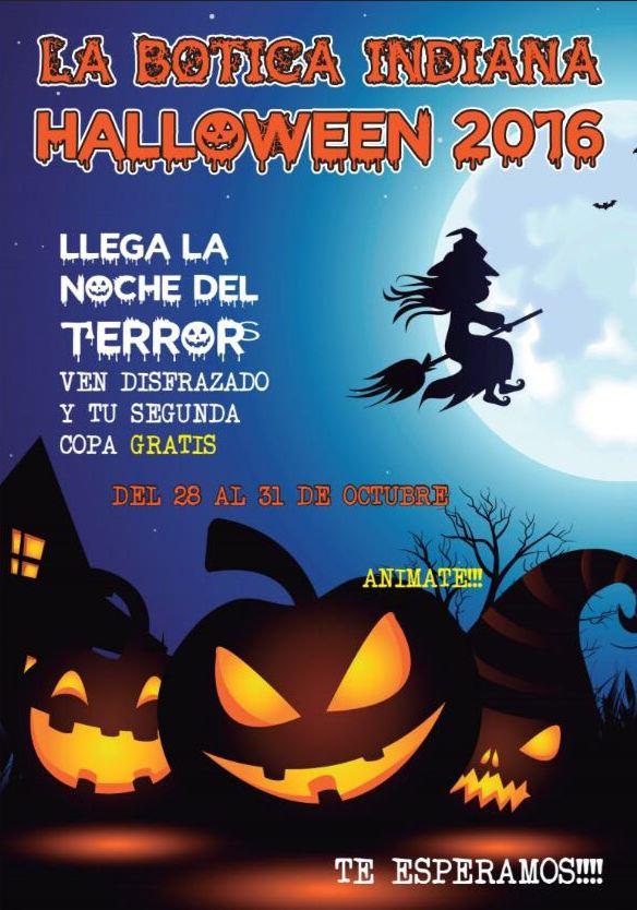 cartel fiesta de Halloween Oviedo