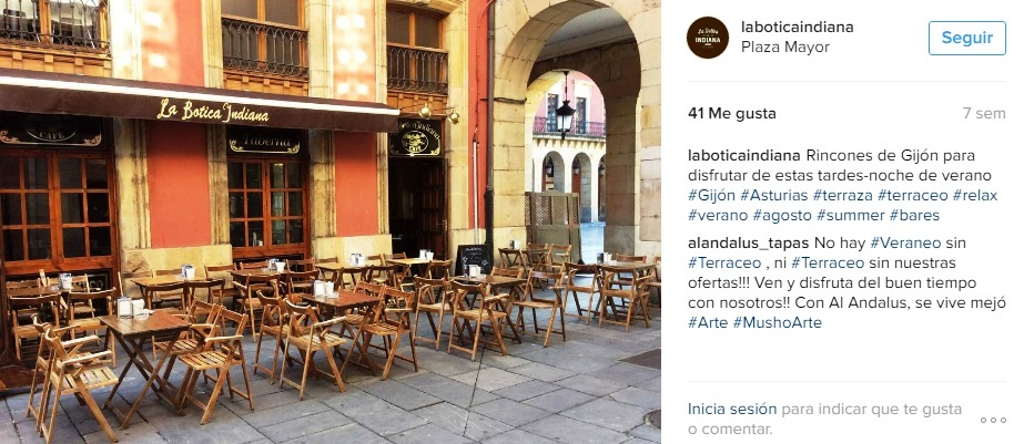 La Botica Instagram