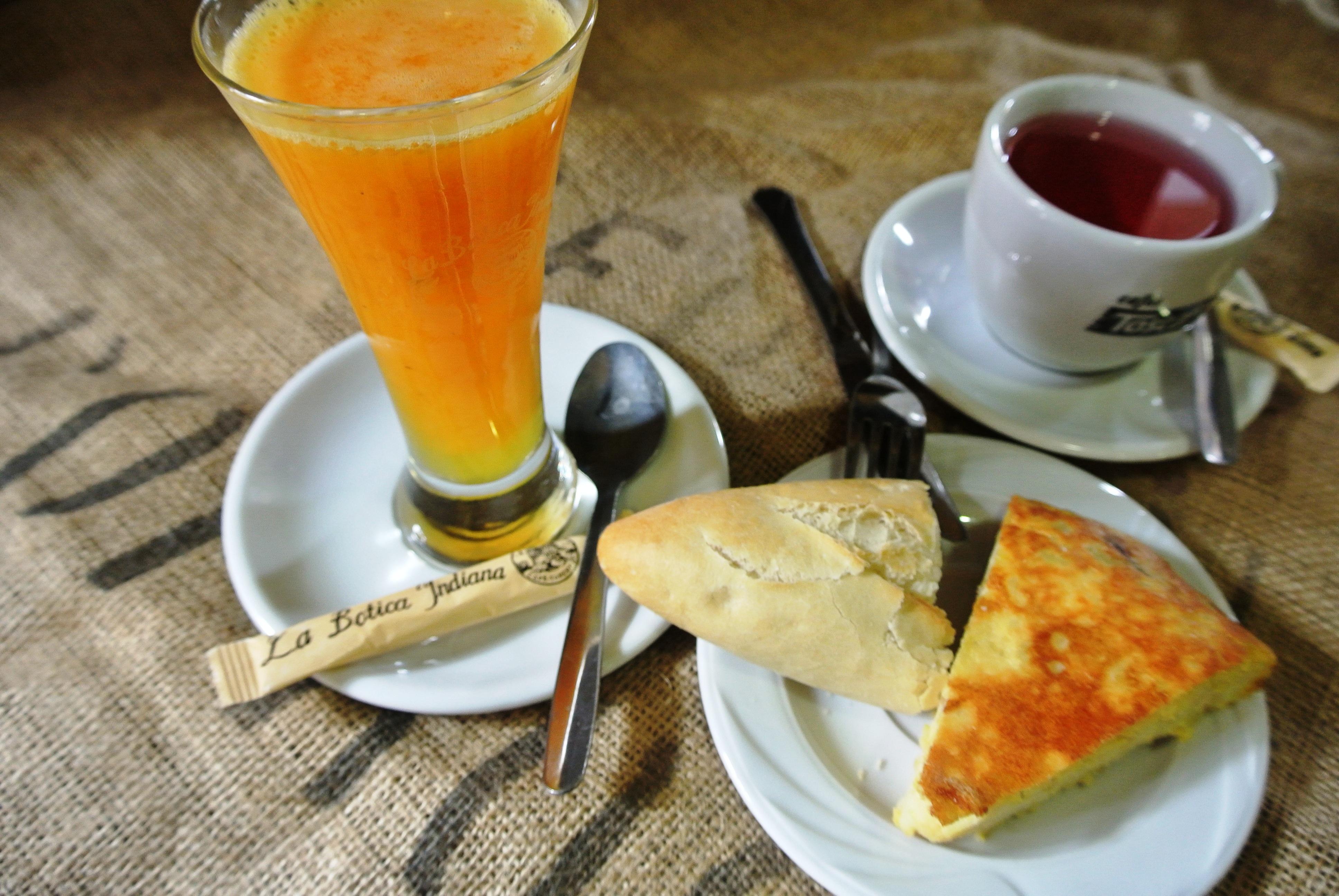 Desayuno en La Botica Indiana