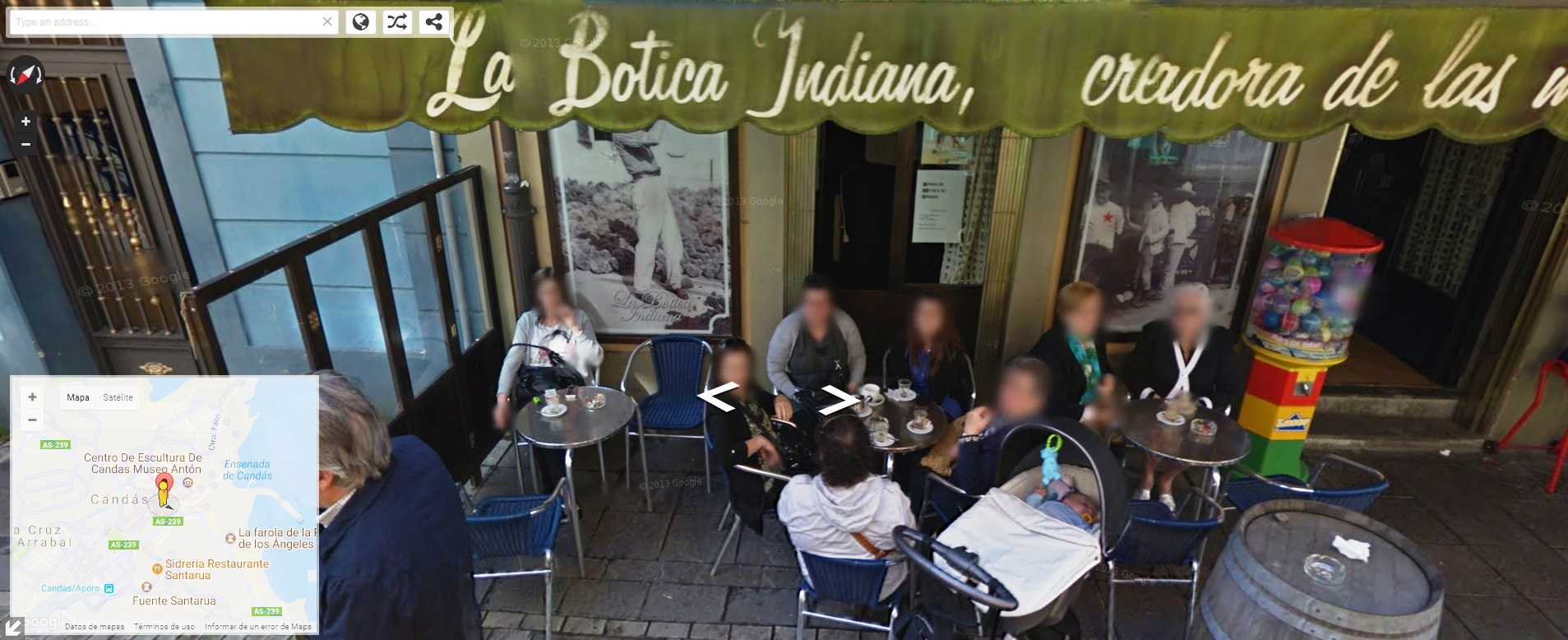 Candás La Botica Indiana