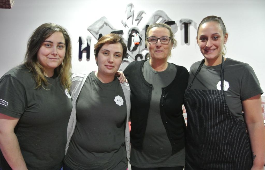 El equipo del Hatchet de Noreña