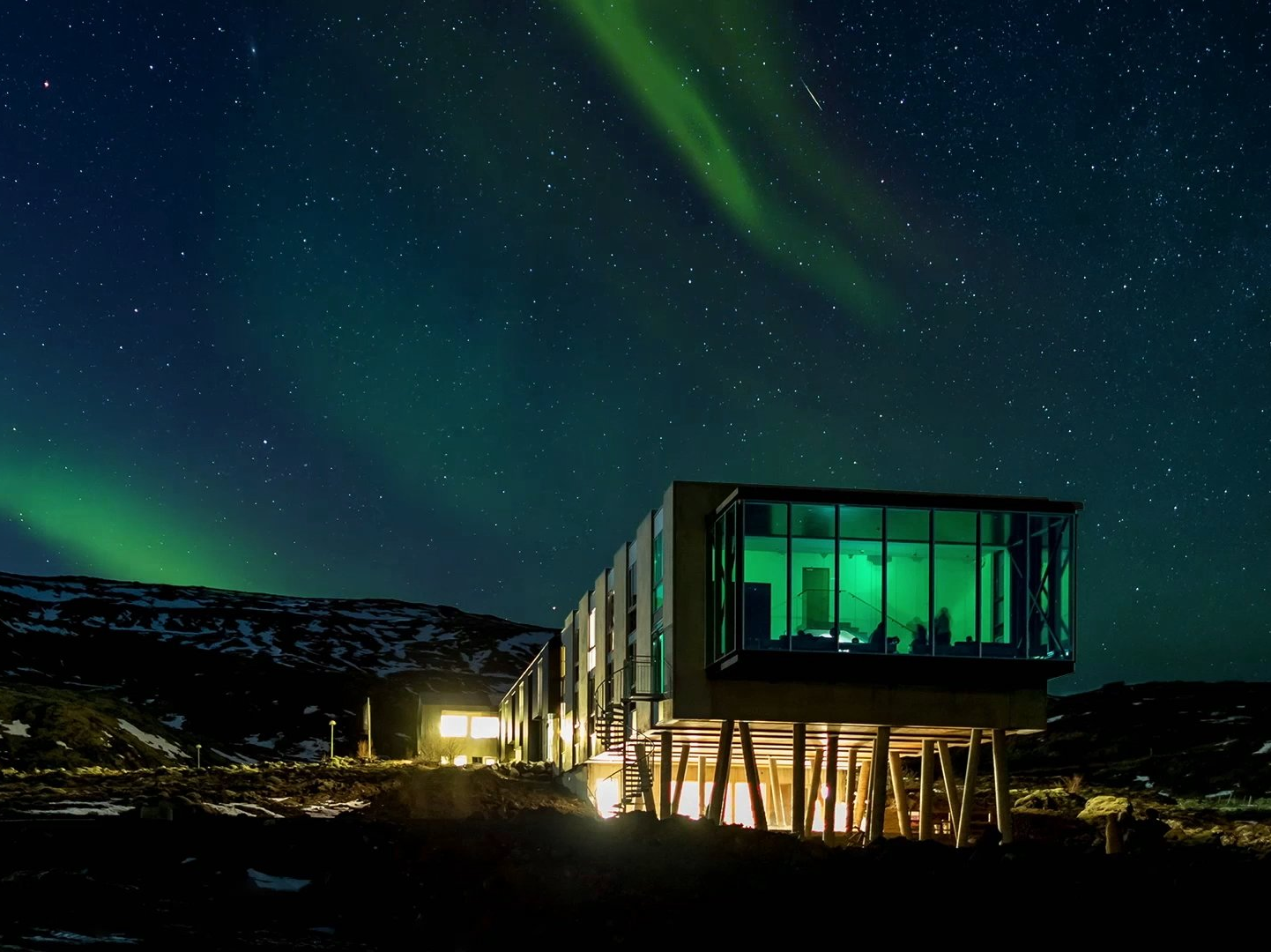 Northern Lights Bar Islandia