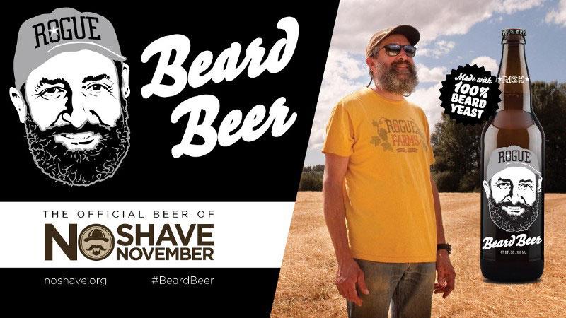 Cerveza con pelos de barba