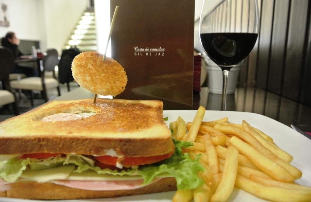 Sandwich vegetal Oviedo