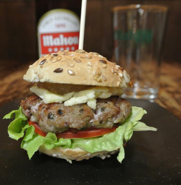 Mini hamburguesa Molly Malone - La Botica Indiana