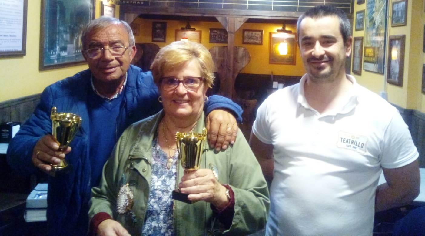 Aquilino y Aurora ganadores