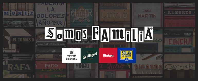 Somos Familia Mahou